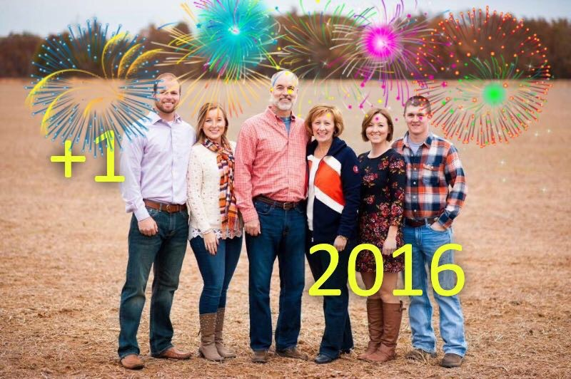 New Year = 7 of us!