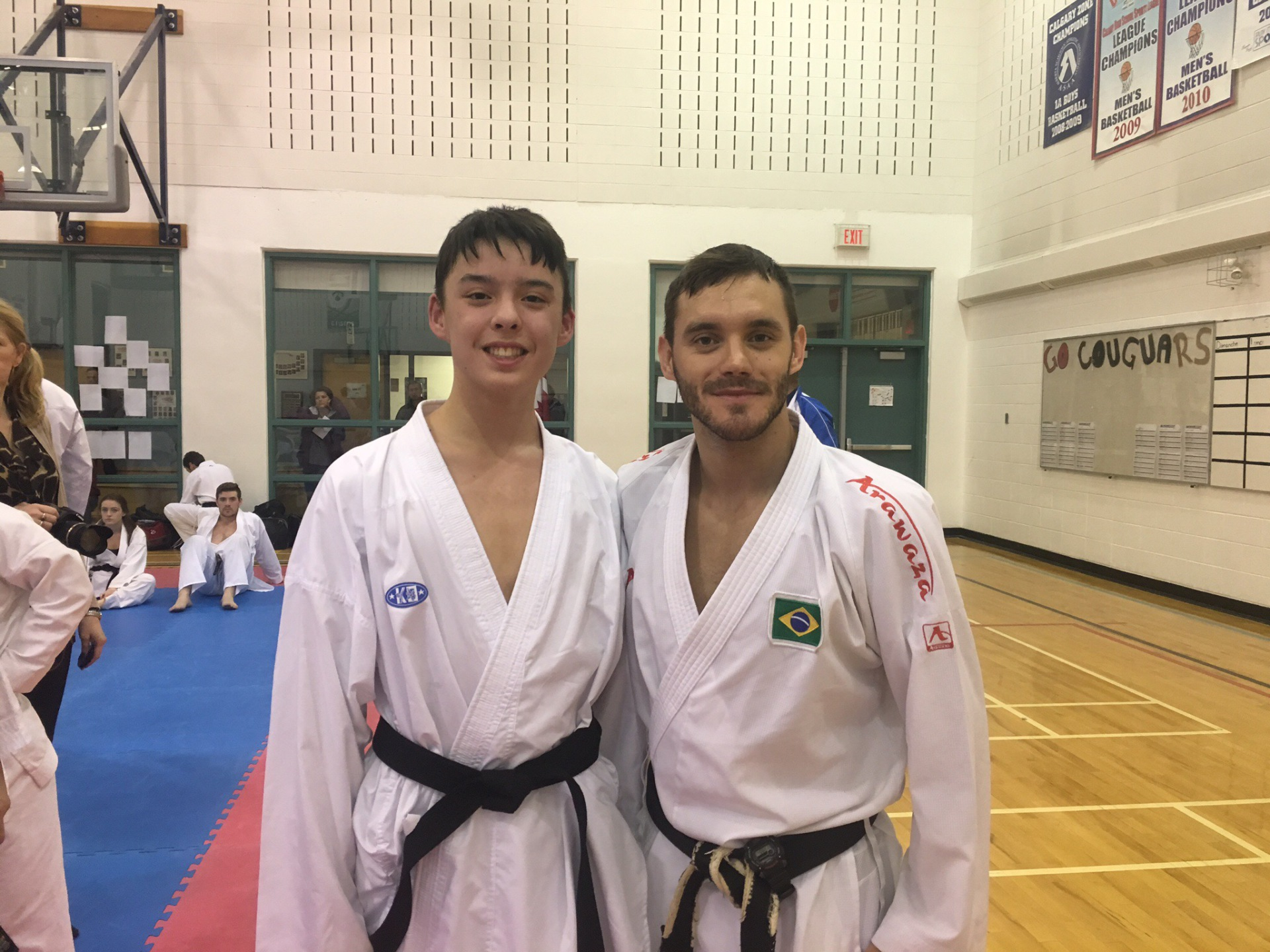 Senpai Michael with World Champion Douglas Brose