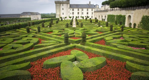 Chateau of Villandry - Loire Valley