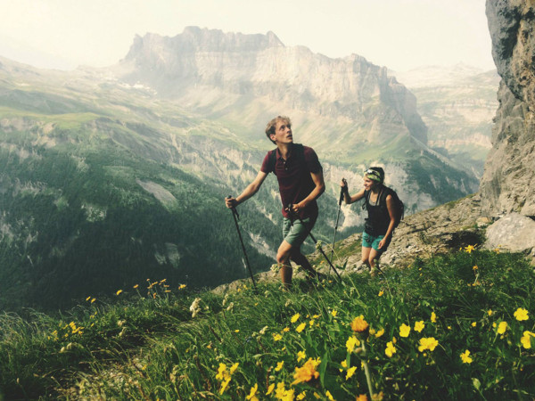 Hiking the French Alps