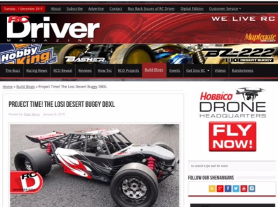 Red Arrow USA engine featured in RC Driver