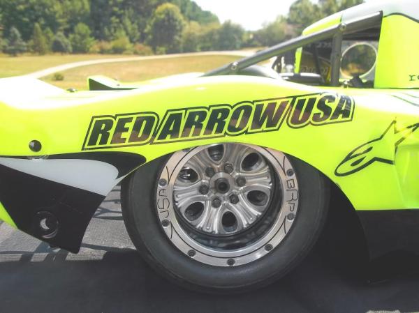 Bishop Racing Products, custom RC wheels, Red Arrow Wheel inserts
