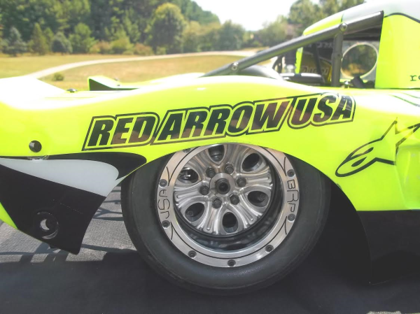 Bishop Racing Products, custom RC wheels, Red Arrow Wheel inserts