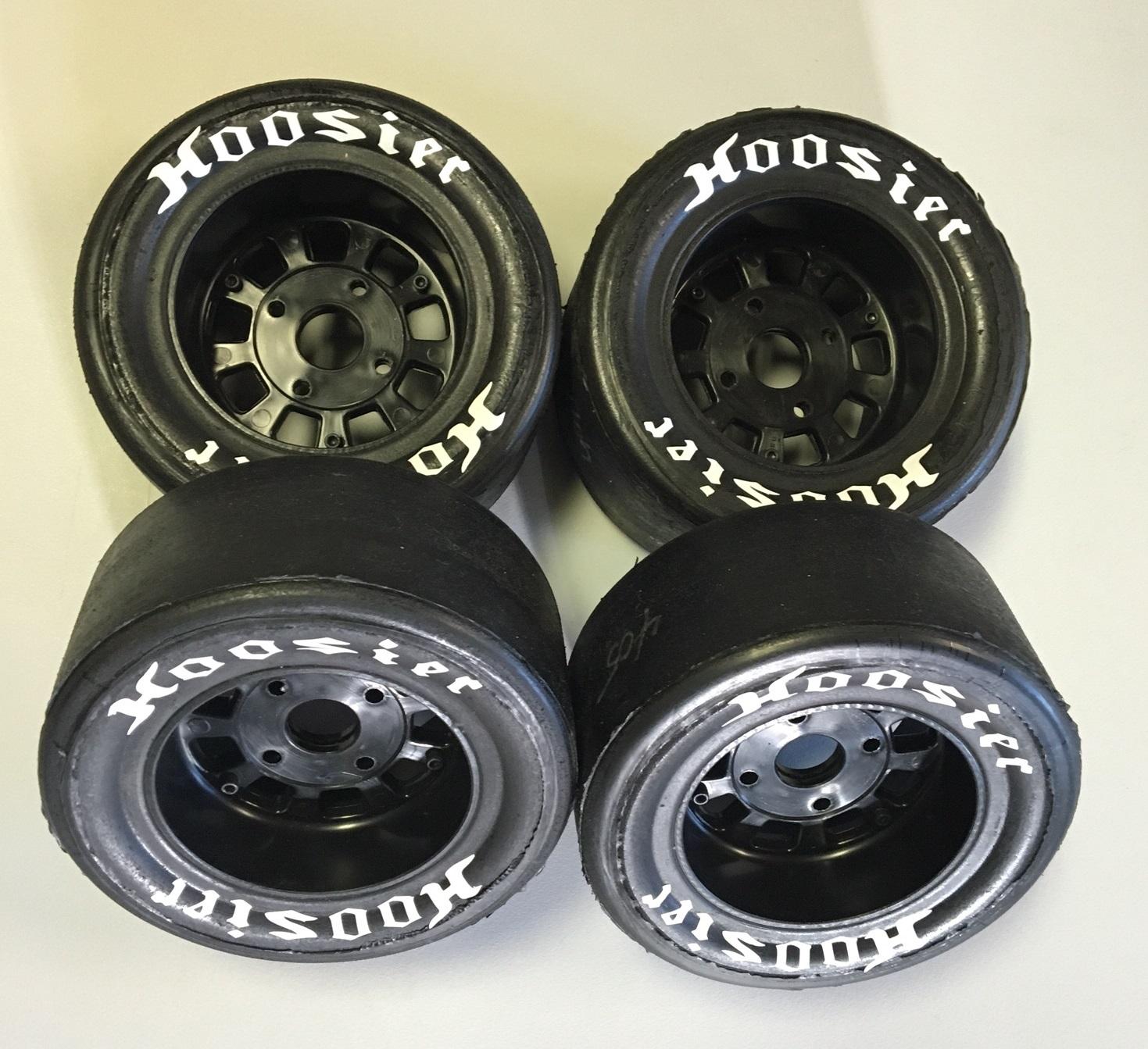 bishop racing tires, custom BRP wheels, Detroit Performance RC tires