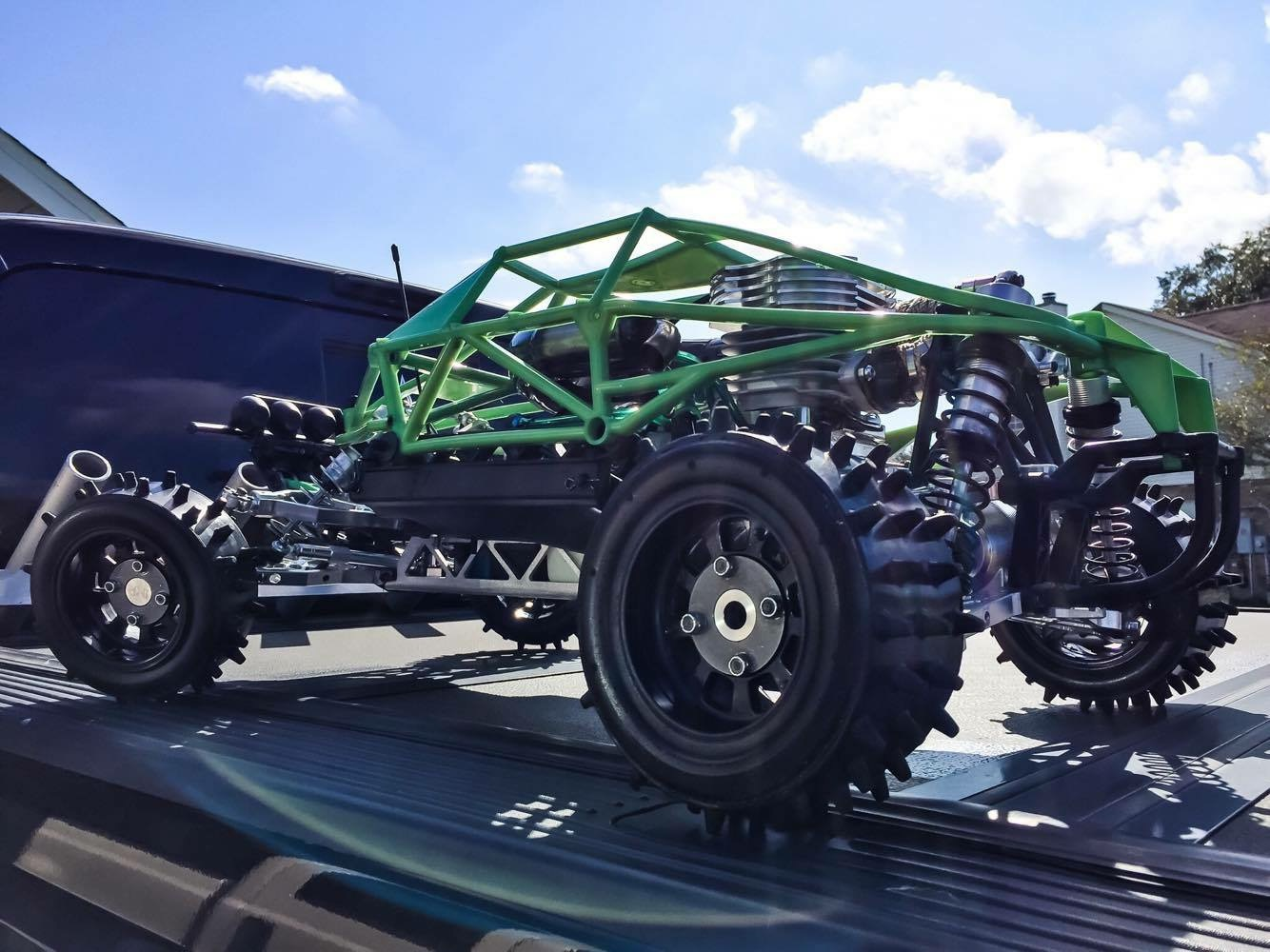 Super spikes, custom Baja, Detroit performance rc, alpha Baja Tommy