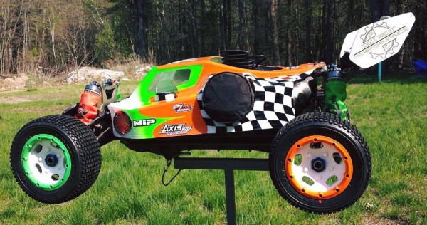 buggy conversion, keith edwards, detroit performance rc, custom RC, 1/5 scale buggy