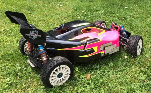 MINI WRC buggy conversion, Losi Buggy conversion, Detroit Performance RC buggy