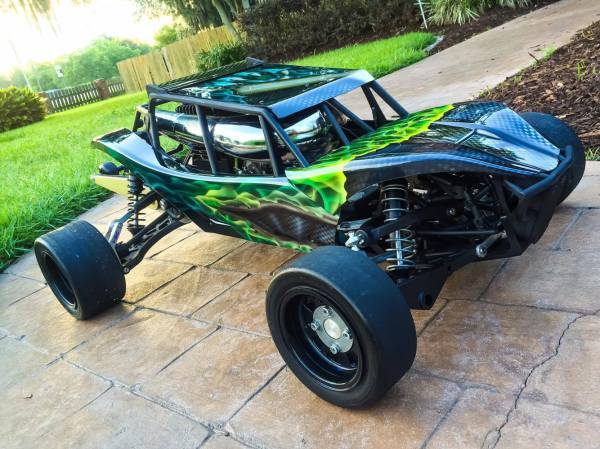 ALX custom baja, AlphaBaja Tommy, Bishop Racing Tires, BRP slicks