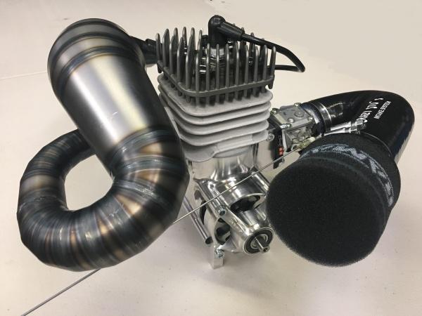 RCMAX, Billet Reed, Big bore, 71cc RC engine