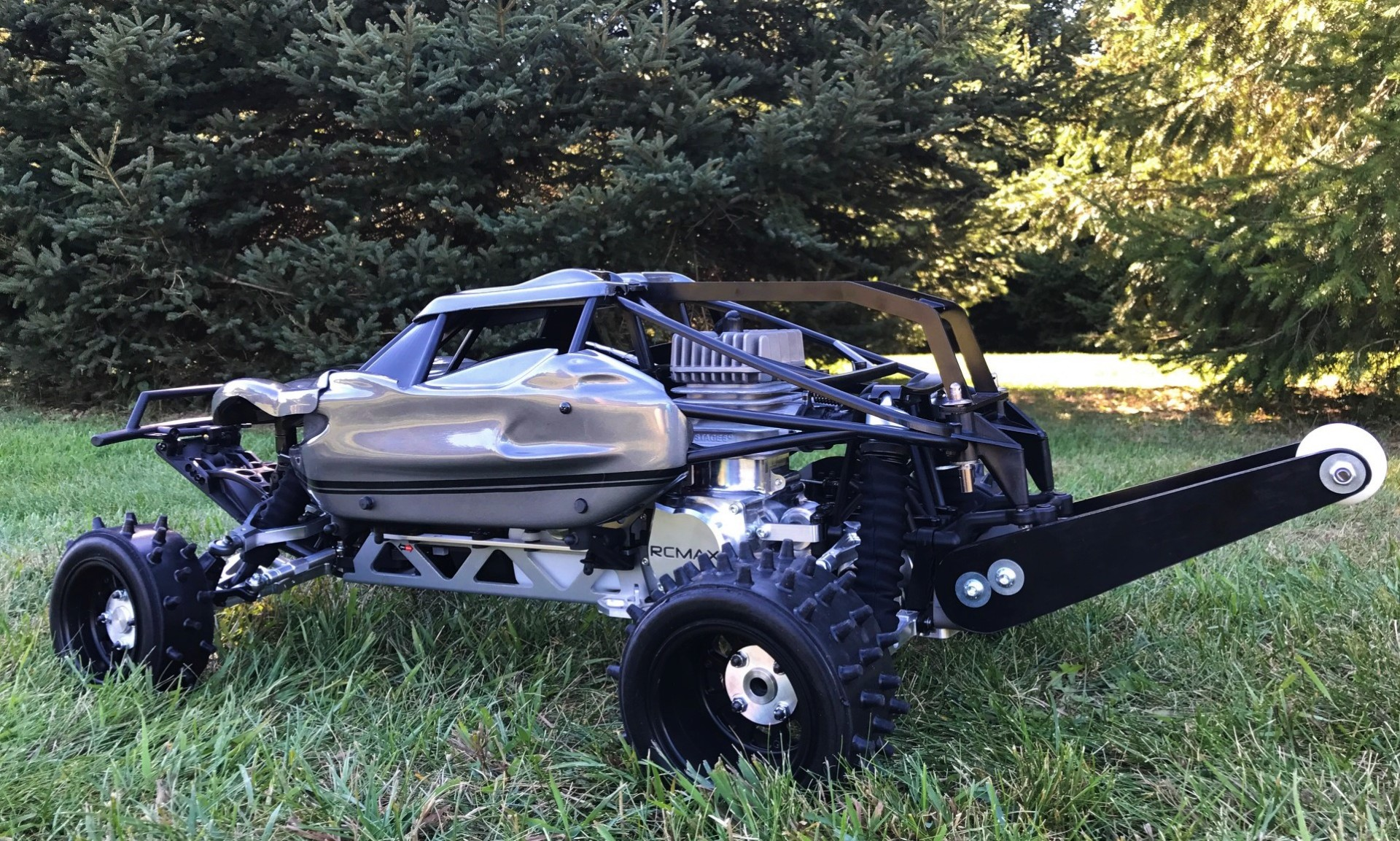 RCMAX, custom baja, Detroit Performance RC, BRP, Chase Cage