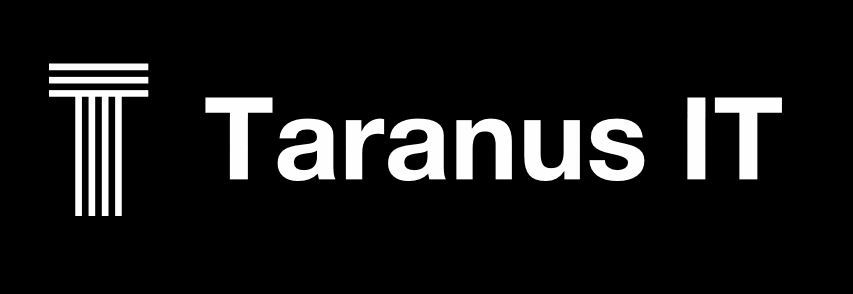 Taranus IT PC Repairs Lower Beechmont Nerang Gold Coast Network Security