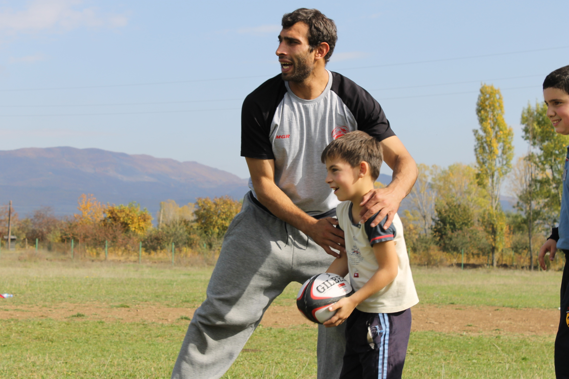 Rugby  for vulnerable children and youth