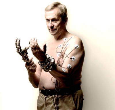 (From Kevin Warwick - Captain Cyborg!) Kevin Warwick was the world's first real human cyborg.