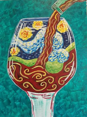 A Glass of Van Gogh