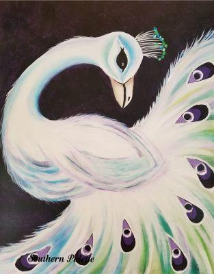 Elegant Peacock-Advanced Lesson
