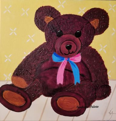 Diamond Teddy Bear-Lev 3  $40