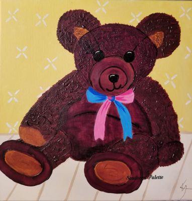Diamond Teddy Bear-Lev 3  $40