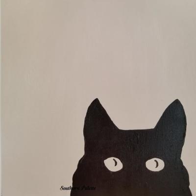 Curious Kitty-Level 1  $40 (12x12)
