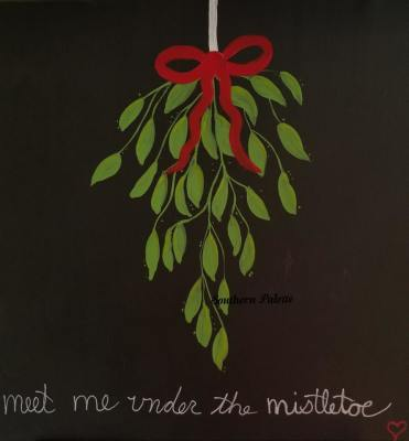 Mistletoe-Level 1  $40 (14x14) (12x12)