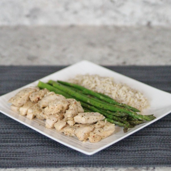 Shredded Meals Garlic Herb Chicken