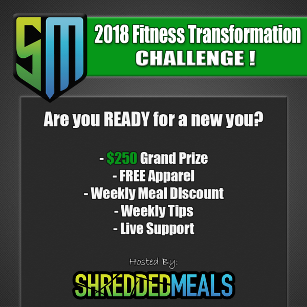 2018 Fitness Transformation Challenge
