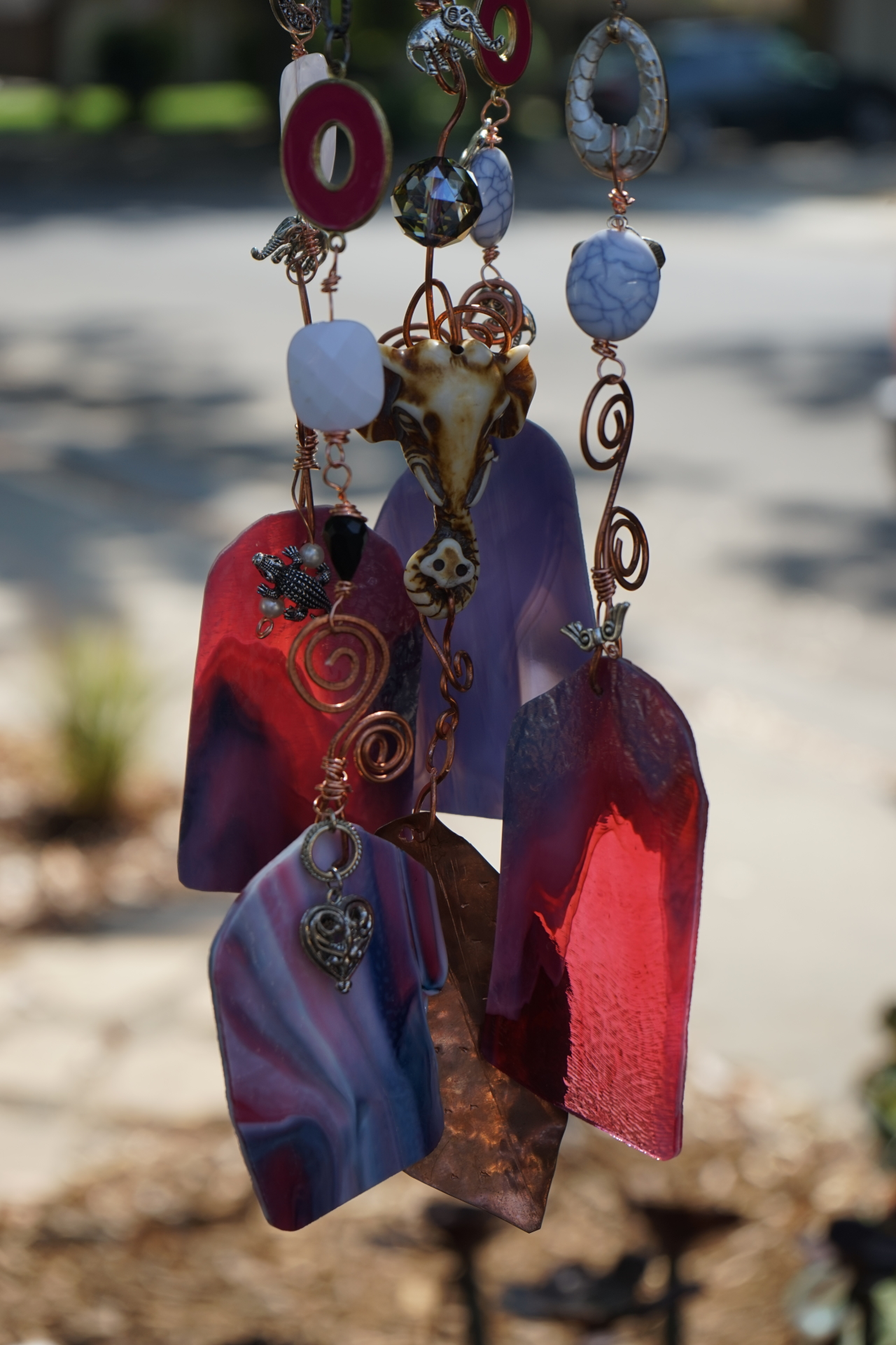 Elephant Wind Chime, detail
