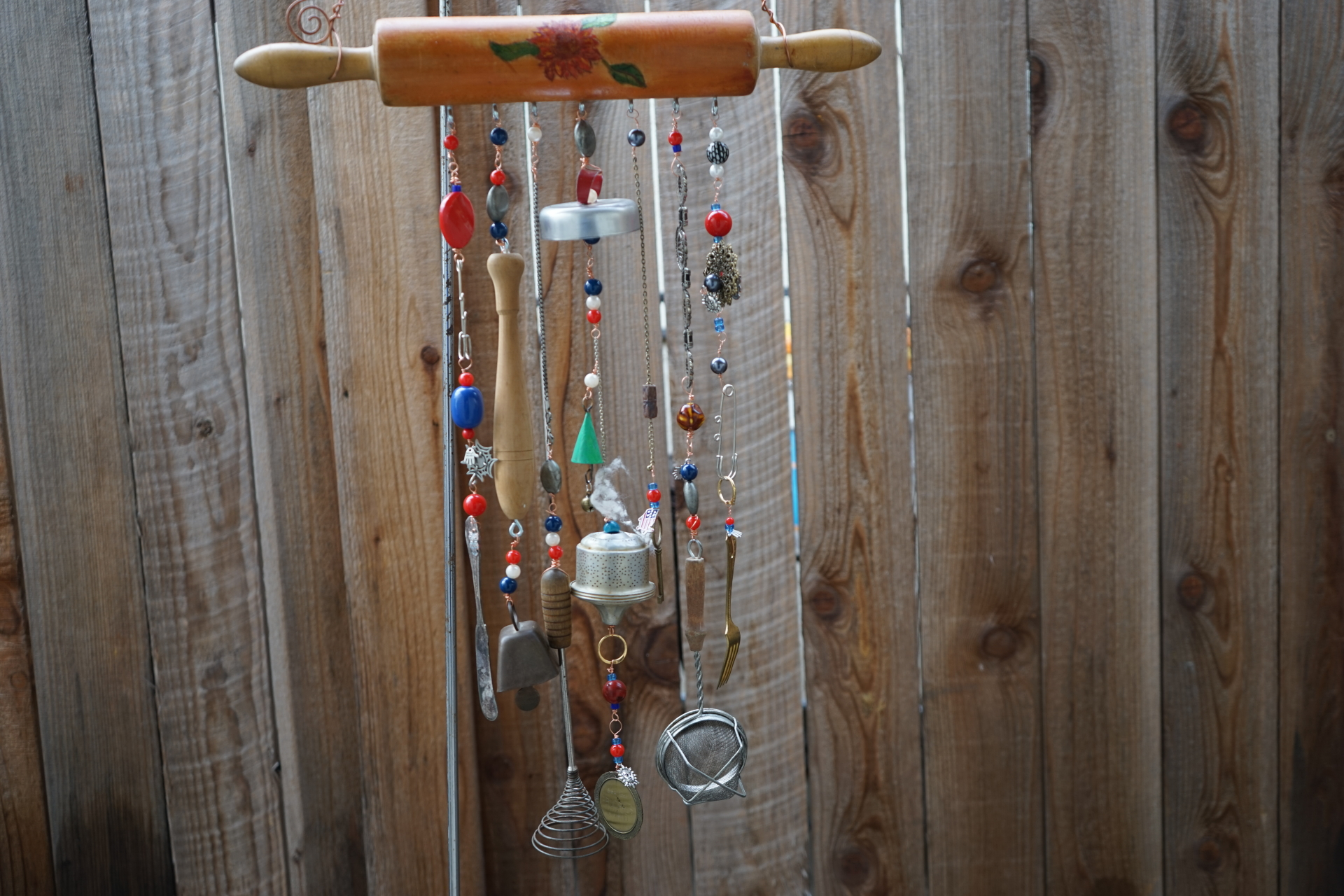 Kitchen Utensil Wind Chime