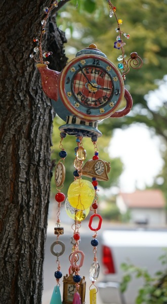 Tea Pot Wind Chime, detail