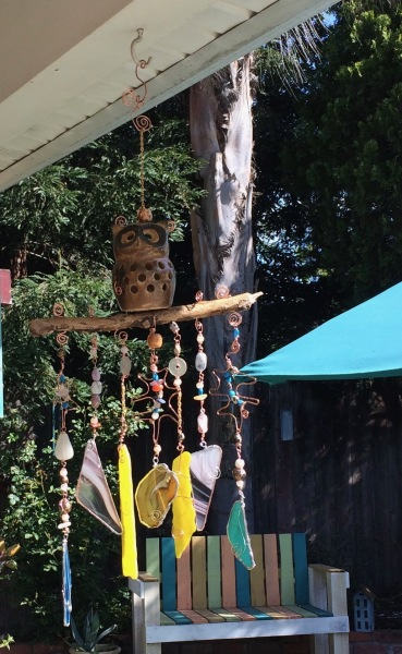 Owl Wind Chime.- At Home Decor and More.
