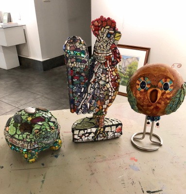 Mistlin Gallery TriDimential Art Show