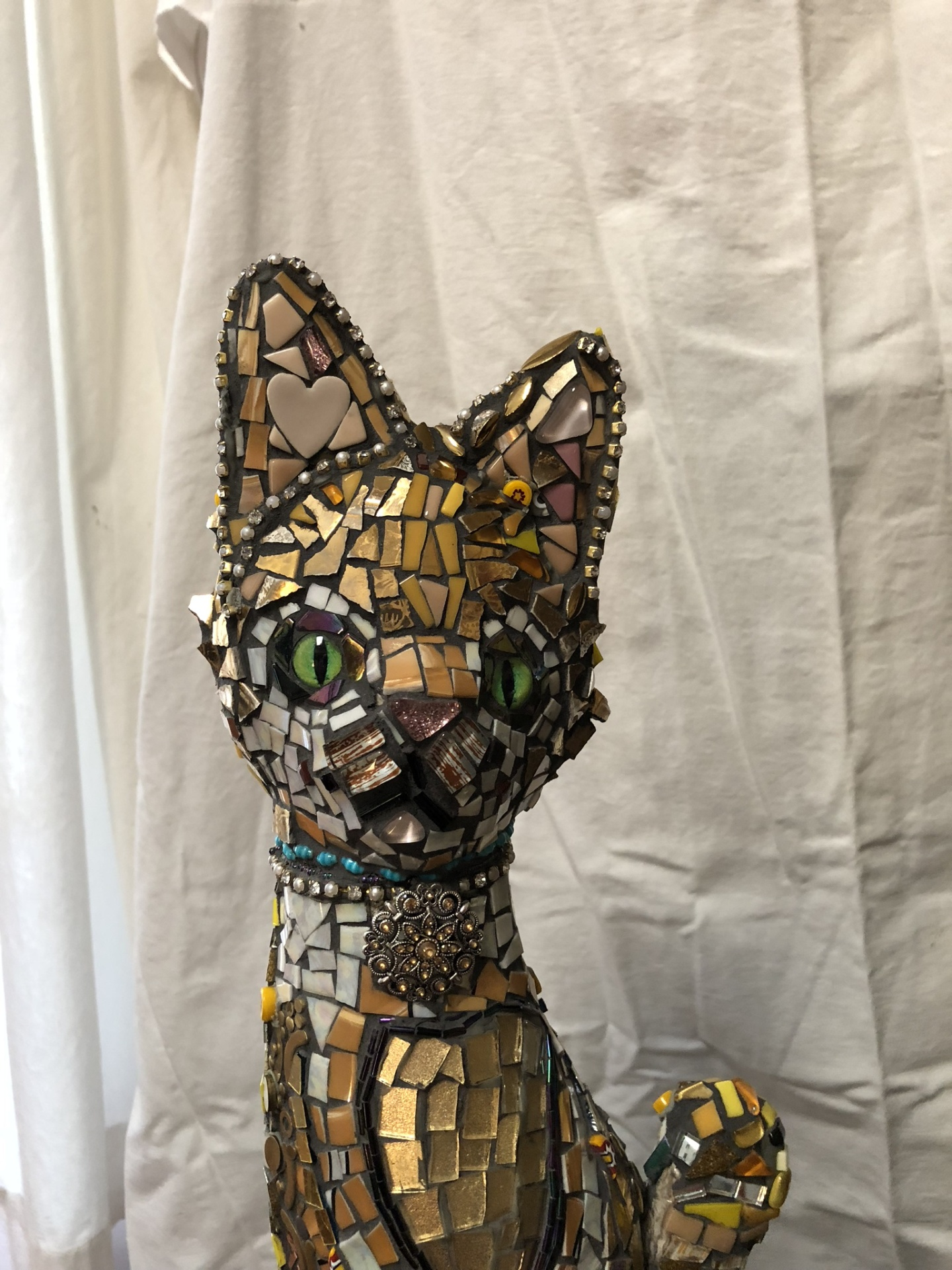 King of the Cats - sculpture