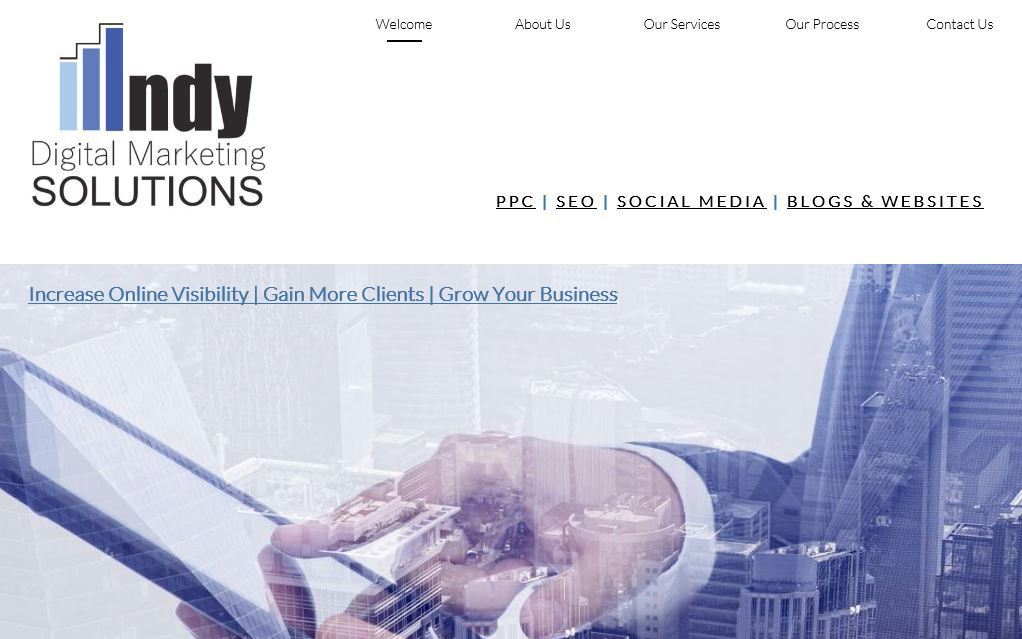 Indy Digital Marketing Solutions Website