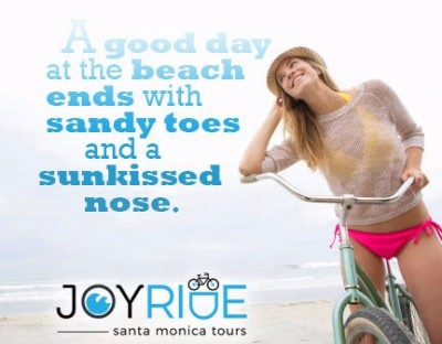 JoyRide Beach Rentals,  Santa Monica CA.