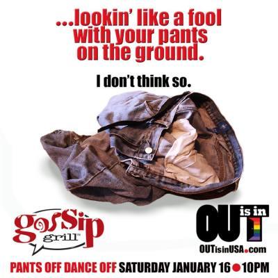 Lesbian Pants Off Party
