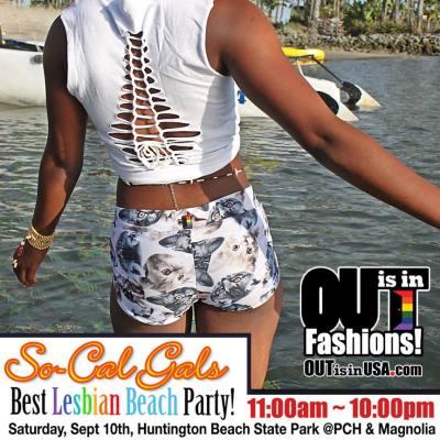 So Cal Gals Lesbian Beach Party