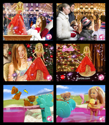 Barbie TV Commercials MATTEL TOYS