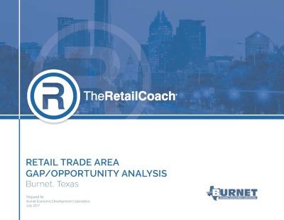Retail Trade Area Gap Analysis