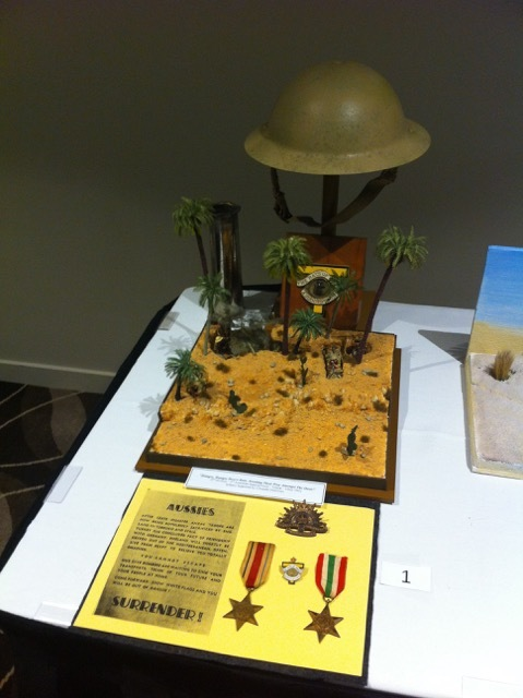Prize Wining Diorama using Materials from Modeller's Warehouse