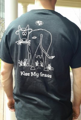 kiss my grass!