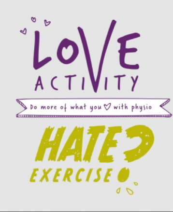 Love activity, Hate exercise