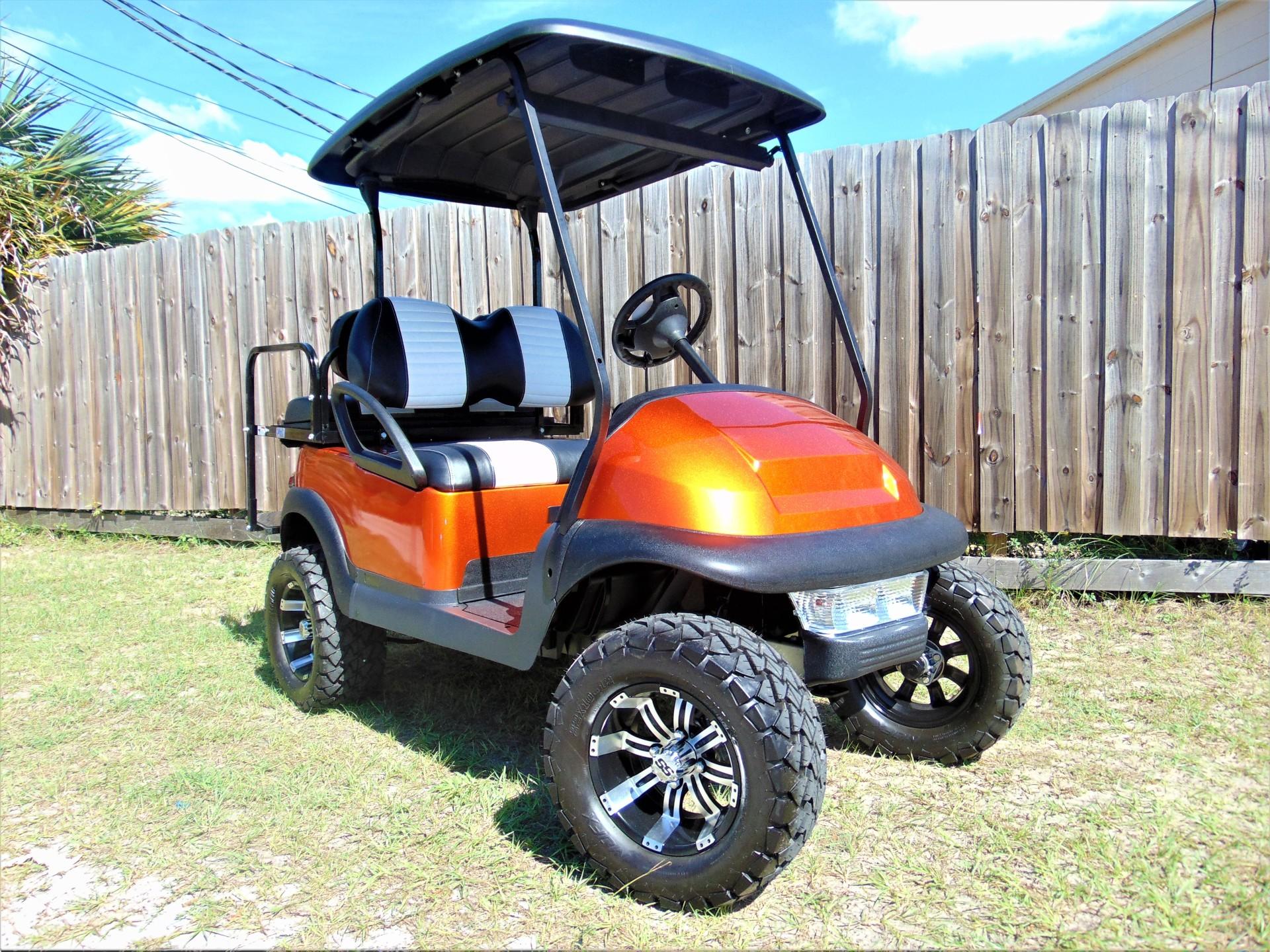 candy orange custom club car precedent