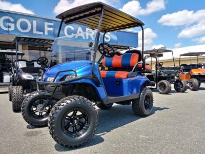 florida gator gators blue orange custom ezgo golf cart