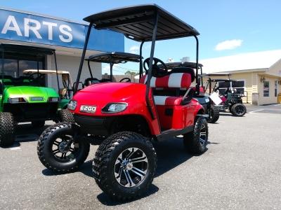 viper red txt custom ezgo golf cart