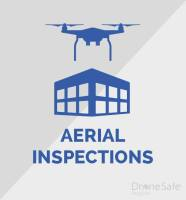 Image of a drone performing an inspection