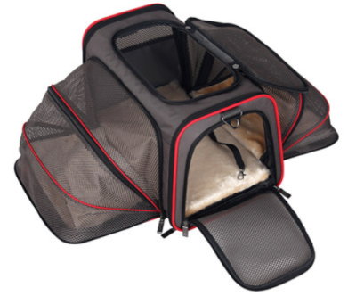 THE ORIGINAL EXPANDABLE PET CARRIER  Retails for: $60.00  Our Price: $39.99    (35% OFF!)