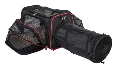 EXPANDABLE PET CARRIER WITH TUNNEL                           Retails for: 70.00                                      Our Price: $49.95     (35% OFF!)