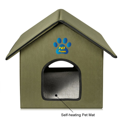 OUTDOOR/INDOOR CAT HOUSE                         Retails for: $50.00                       Our Price: $39.99    (25% OFF!)