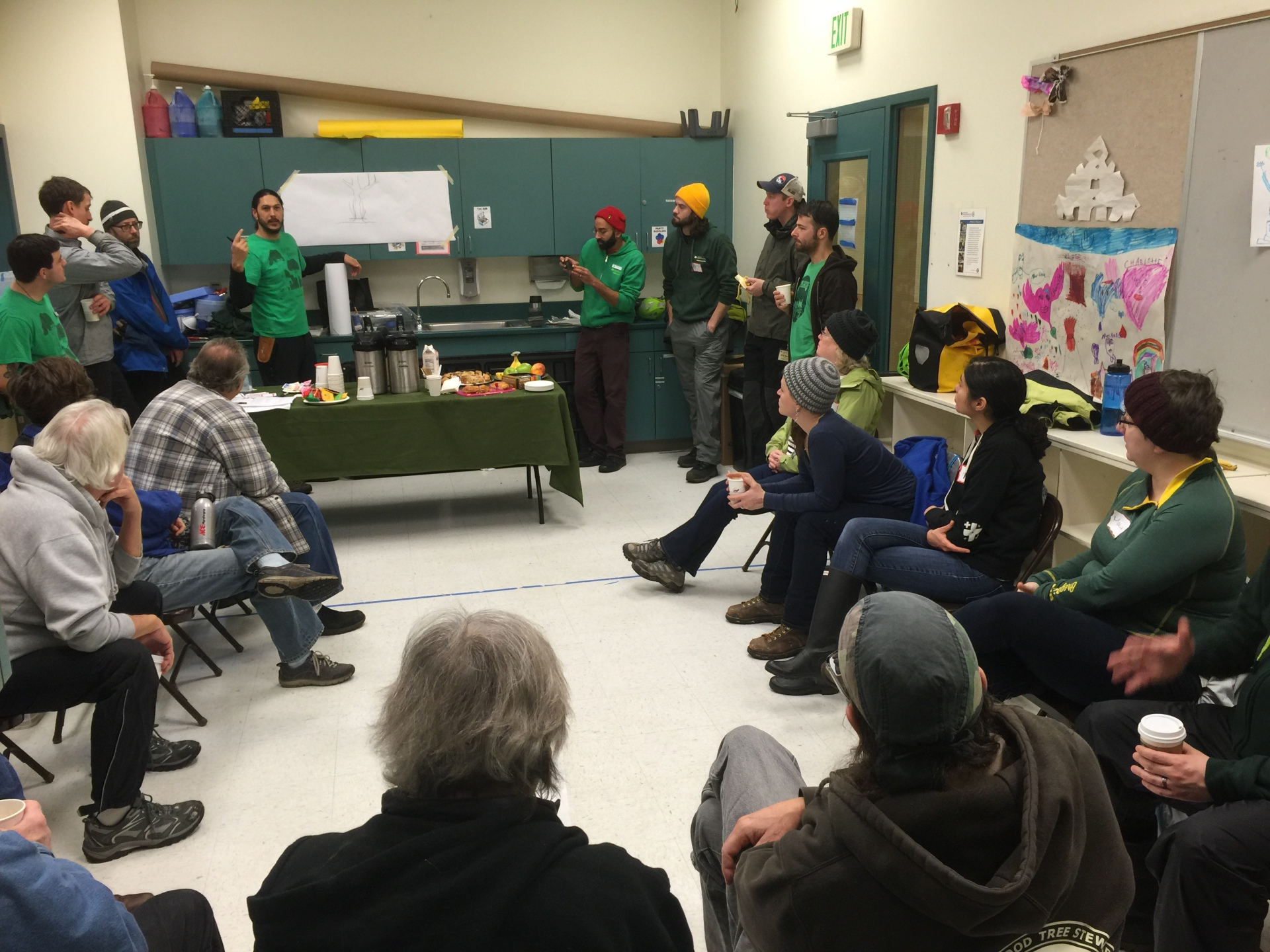 Volunteers Learn Pruning Basics from Certified Arborists