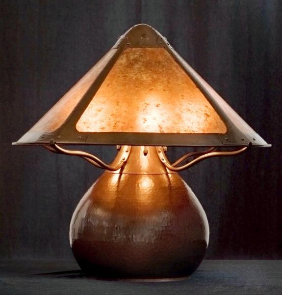 Van Erp Gourd Lamp