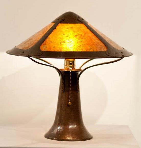 Van Erp Trumpet base lamp